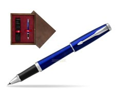 Pióro kulkowe Parker Urban Nightsky Blue CT T2016 w pudełku drewnianym Wenge Single Bordo