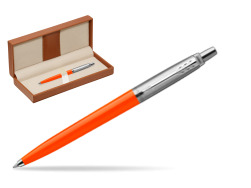 Długopis Parker Jotter Originals Orange w pudełku classic brown