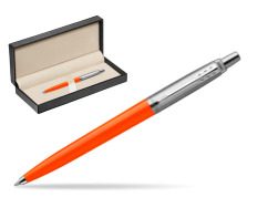 Długopis Parker Jotter Originals Orange w pudełku classic pure black